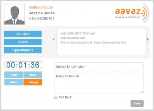 Call Center Application Provider Aavaz Rolls Out Natively Integrated SMS Plugin for Sugar