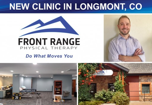 Physical Rehabilitation Network Opens a New Clinic in Longmont, CO Under the Front Range Physical Therapy Brand