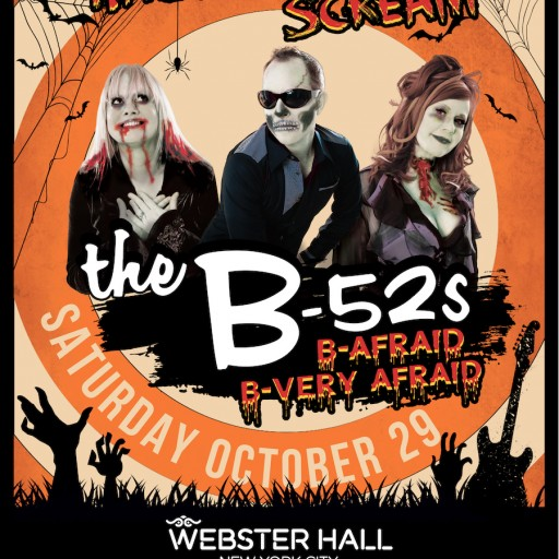 B-52s Return to Webster Hall for Special Halloween Scream Performance