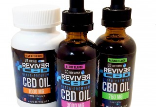 Reviver CBD Oil Drops, Capsules, Lotion and NEW Cold Freeze Roll On