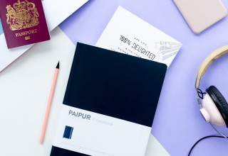 PAIPUR Color Series Dark Blue Notebook
