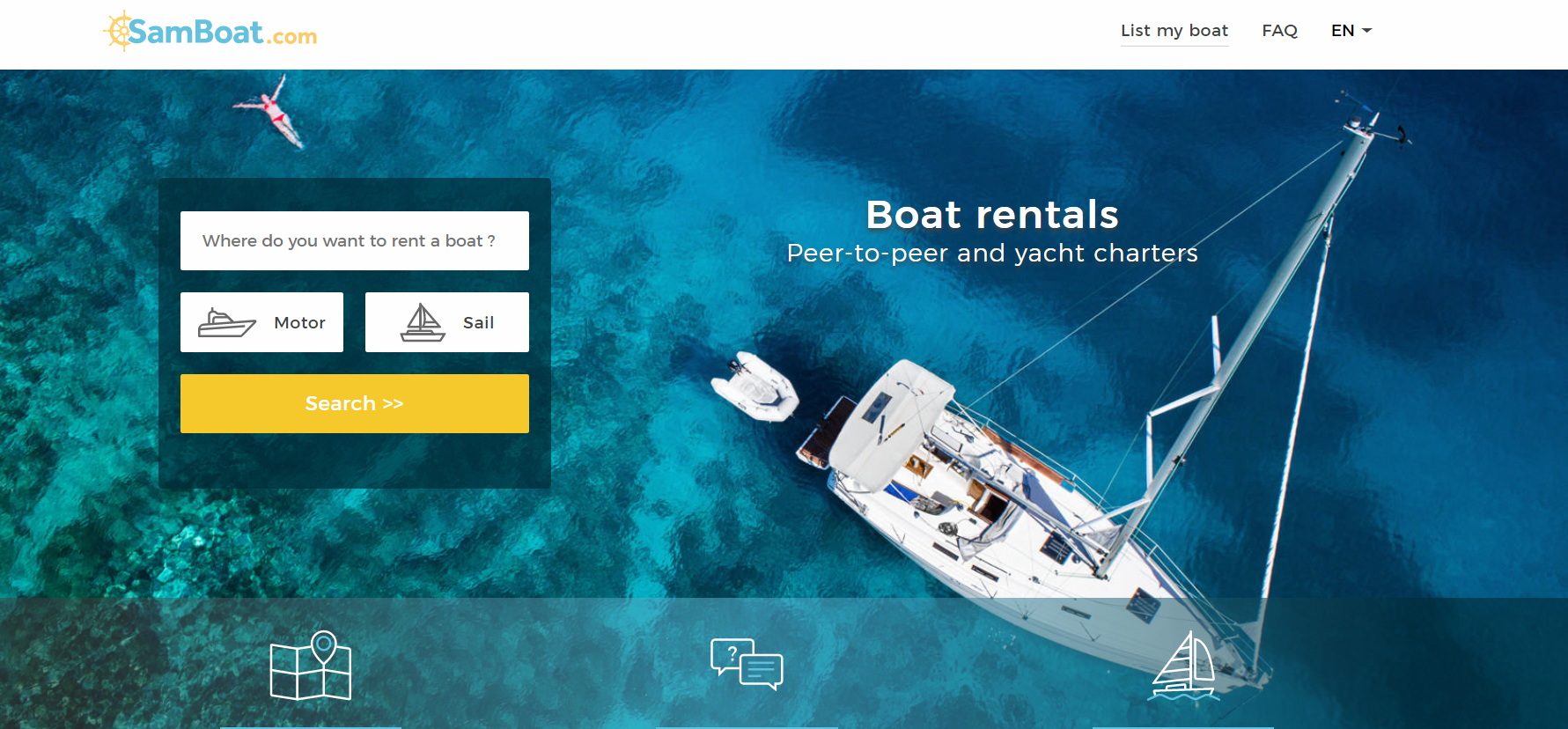 A Captain is Announced in the 'Airbnb for Boats' Race, SamBoat Goes