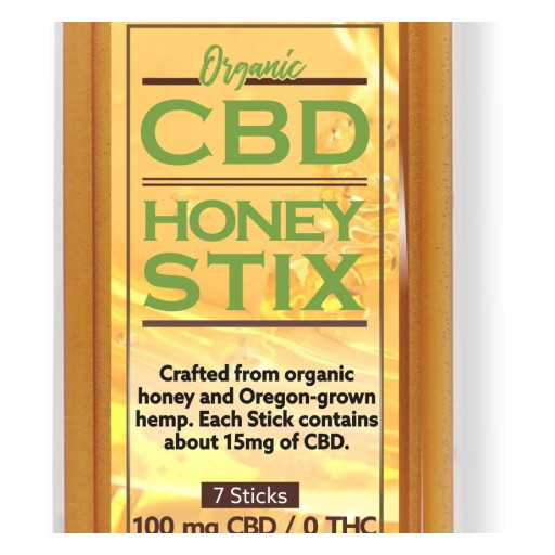 The Market is Abuzz About New CBD Honey Stix From Oliver's Harvest
