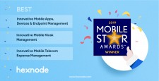Hexnode wins 2019 Mobile Star Awards