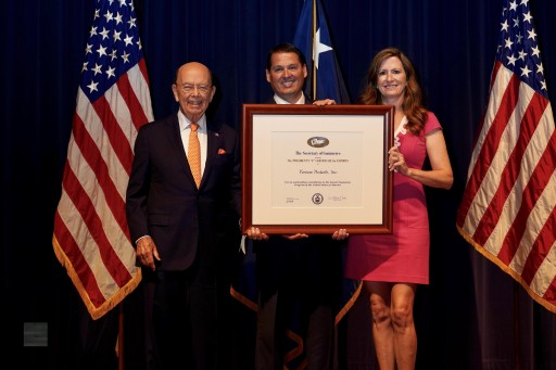 Fortune Products, Inc. Receives Presidential Award for Exports