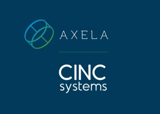 Axela Technologies and CINC Systems Announce Integration Partnership