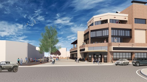 The Grove on Mainstreet Proposed Mixed-Use Development to Provide a Warm and Welcoming Sense of Place in Parker, Colorado