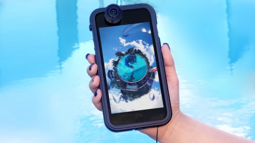 Vyu360 Debuts World's First Rugged Case Featuring 360 Capturing Capabilities for iPhone at CES 2019