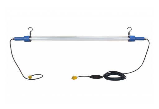 Larson Electronics Releases LED Drop/Task Light, 28W, 25' SOOW Cord, Daisy Chain Connections