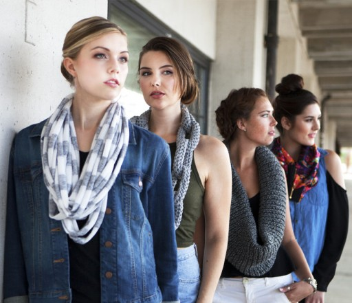 Moby & Tate Sets the Latest Trend in New Scarf Collection; Fusing Fashion and Edgy Neckwear