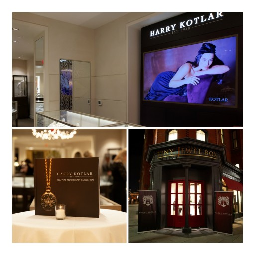 Harry Kotlar Celebrates Grand Boutique Opening at Tiny Jewel Box and 70th Year Anniversary