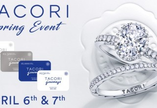 Tacori Spring Event on April 6th and 7th, 2018
