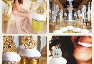 Versailles cupcake topper