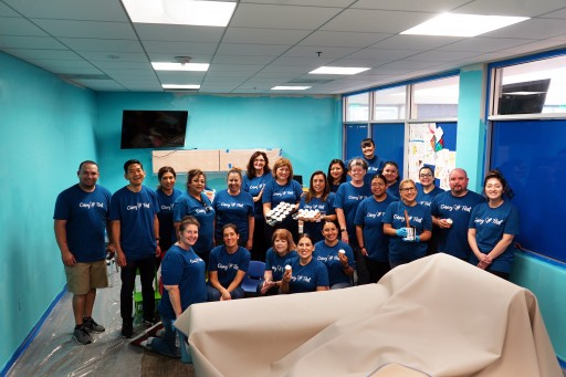 Credit Union Employees Beautify Boys & Girls Clubs Across Fullerton