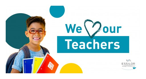 Essilor Vision Foundation Celebrates the Nation's Teachers