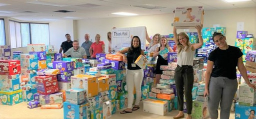 HomeAid Collects Over 2.7 Million Diapers in 2021 Spring Essentials Campaigns