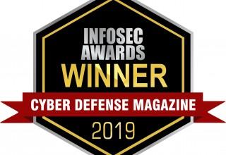 Cyber Defense Magazine InfoSec Awards Winner | 2019