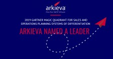 Arkieva Named as a Leader in the 2019 Gartner Magic Quadrant for Sales and Operations Planning Systems of Differentiation