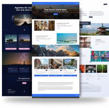 Travefy Website Builder