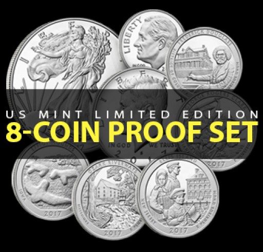 US Mint Presents Limited Edition 2017 Silver Proof Set