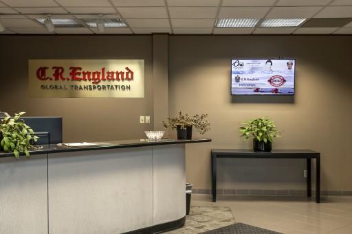 Digital Signage Drives Innovative Communication at C.R. England
