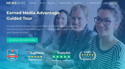 Newswire Celebrates One Year Anniversary; the Earned Media Advantage Guided Tour Launched in August of 2019