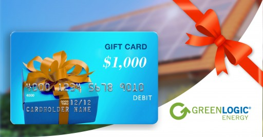 Go Solar With GreenLogic and Receive a $1K Gift Card