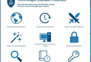 RDS-Knight 3.0 ULTIMATE license includes Ransomware Protection