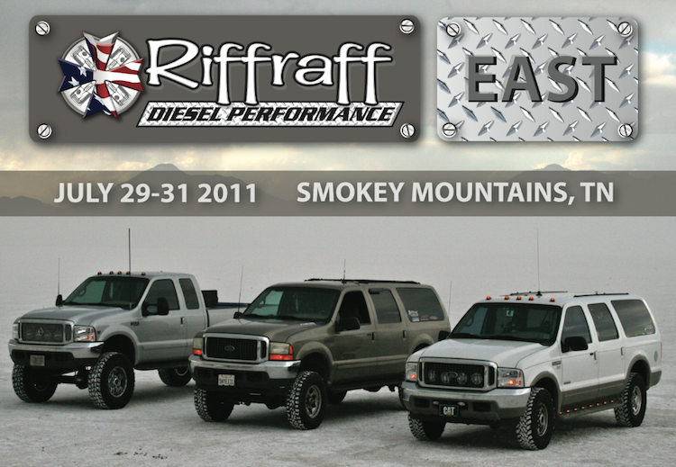 Annual Riffraff Diesel Performance Parts East Event 3 Days Of