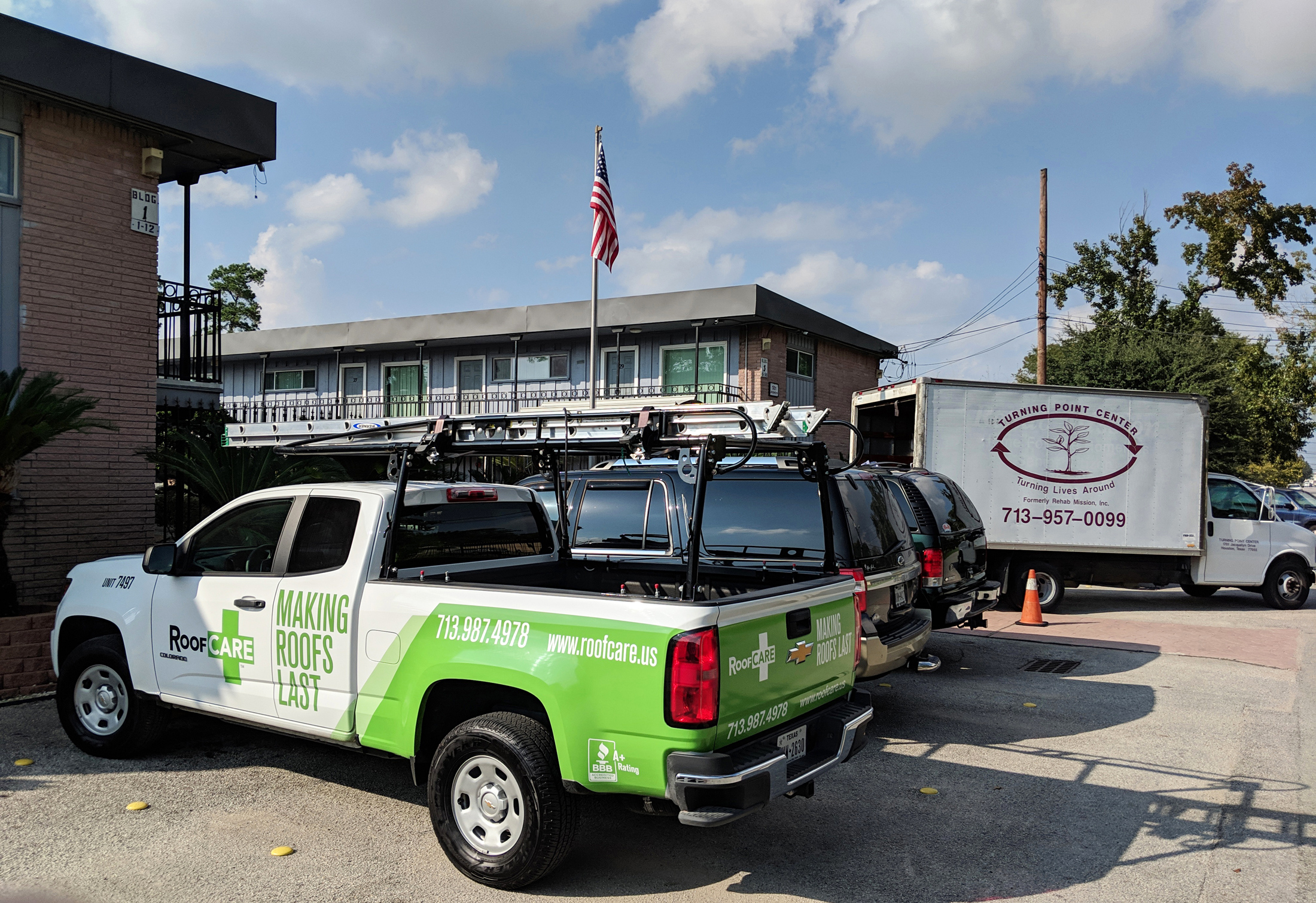 Turning Point Center Of Houston To Receive Donated Roof
