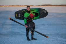 GEARLAB inuit paddle to be used on the circumnavigation