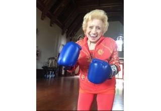 Film Still 2 - Boxing in her 90s