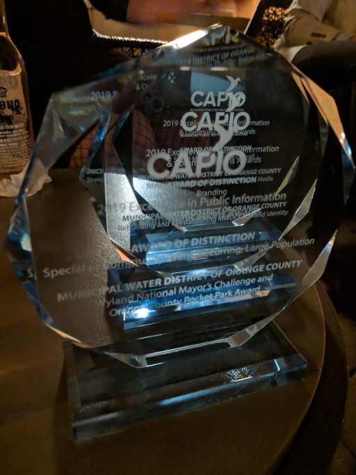 MWDOC Earns Top CAPIO Awards of Distinction