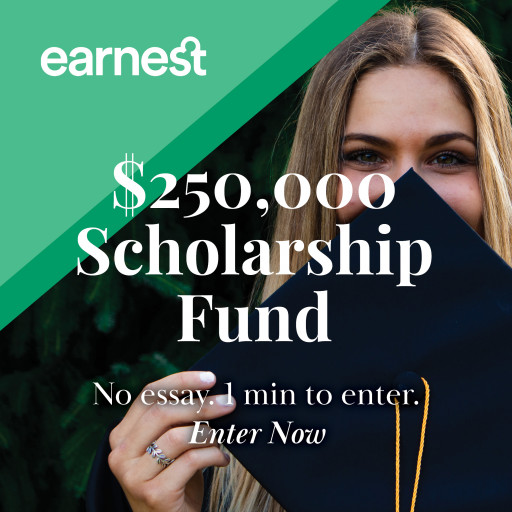 Deadline for Earnest Scholarship Only 6 Weeks Away