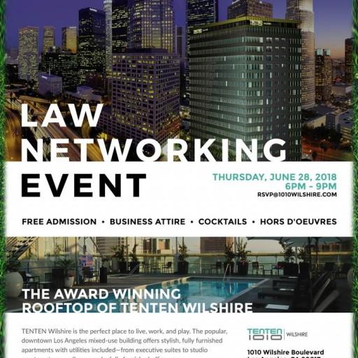 TENTEN Wilshire Rooftop: Law Networking Event