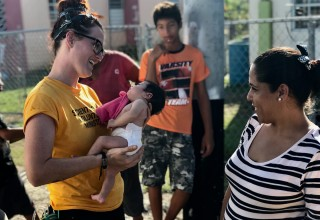 Scientology Volunteer Minister in Puerto Rico providing relief in the wake of Hurricane Maria
