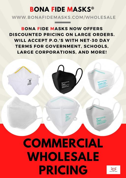Bona Fide Masks Corp. Expands Wholesale Offering