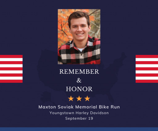 Motorcycle Run Set to Honor Maxton Soviak, a Berlin Heights Native Killed in Recent Kabul Attack