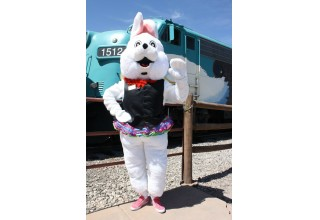 Easter Bunny at Verde Canyon Railroad