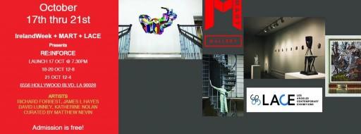 IrelandWeek's Art Opening party - RE:INFORCE