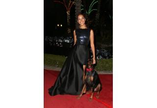 Vanderpump Dogs Ambassador, Leona Lewis with her dog, Zion.