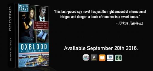 Author Annalisa Grant Releases Oxblood With Open Road Media Teen & Tween