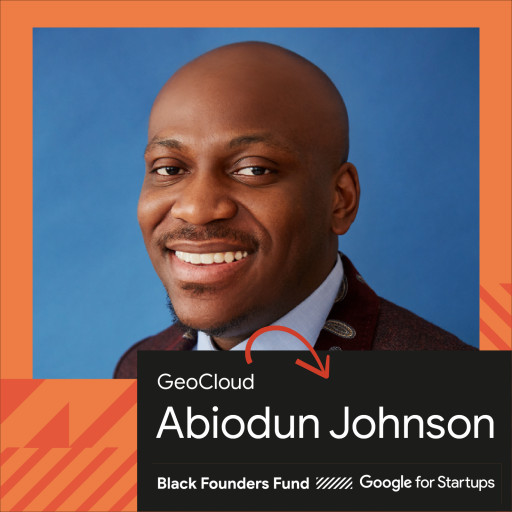 GeoCloud Selected for Google for Startups Black Founders Fund