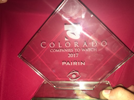 PAIRIN Named a Colorado Companies to Watch Winner