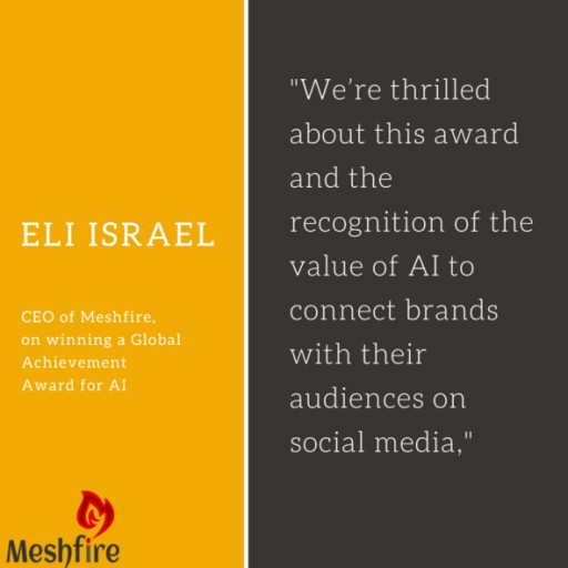 Seattle Startup Meshfire Wins Runner Up for Best AI Startup of 2015