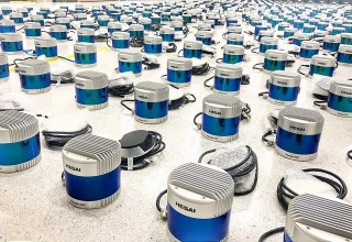 Hesai, a lidar manufacturer based in China, have scaled up the production of their mechanical lidar modules. Lidar is a laser-based 3D sensor technology and it enables self-driving cars to see the world.