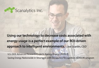 Scanalytics CEO Joe Scanlin