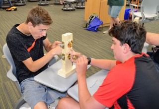 GenCyber Campers Learn How Locks Work