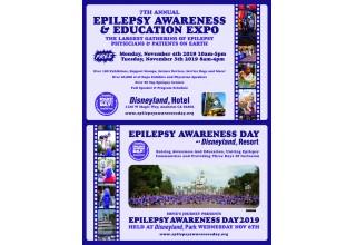 Epilepsy Awareness Day at Disneyland 2019 Postcard
