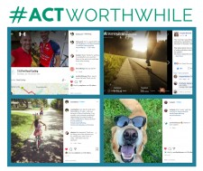 #actworthwhile